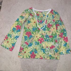 Lilly Pulitzer Women's Floral Top